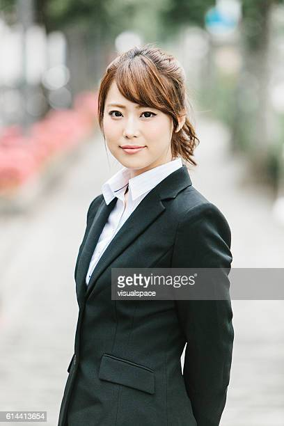 Asian Businesswoman on the Street