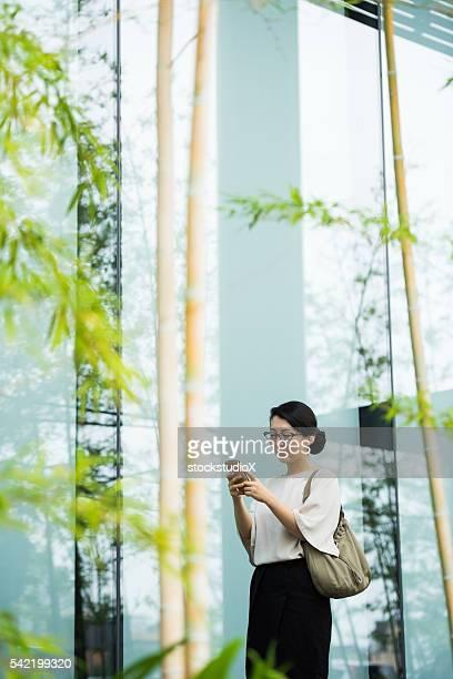 Asian businessworman