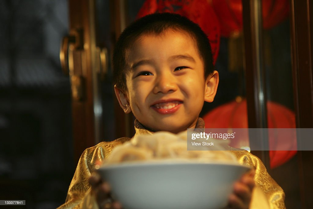 Oriental Child,Festival : Stock Photo