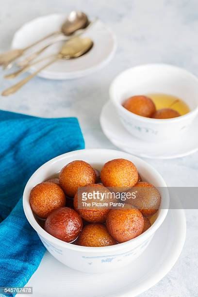 Asian dessert of gulab jamoon