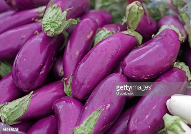 Asiatische Eggplants