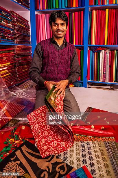 Asian fabric shop