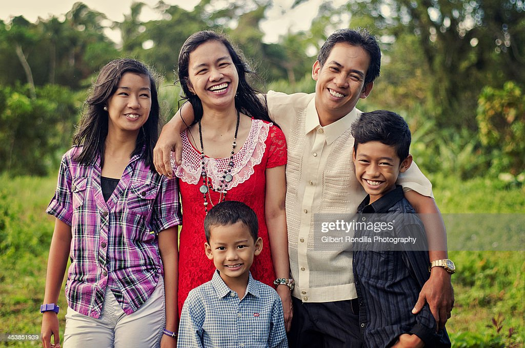 Asian Family Portrait