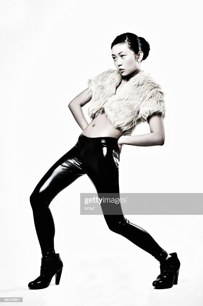 Asian Female Fashion : Stock Photo