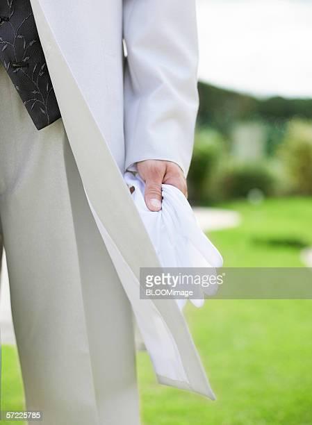 Asian groom