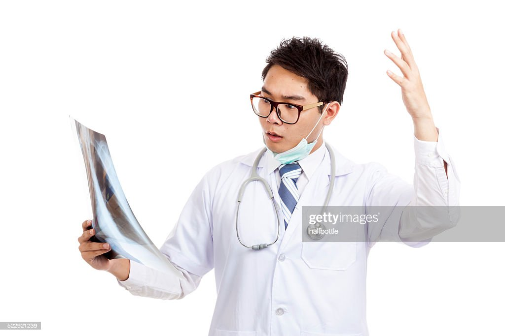 Male doctor Asian