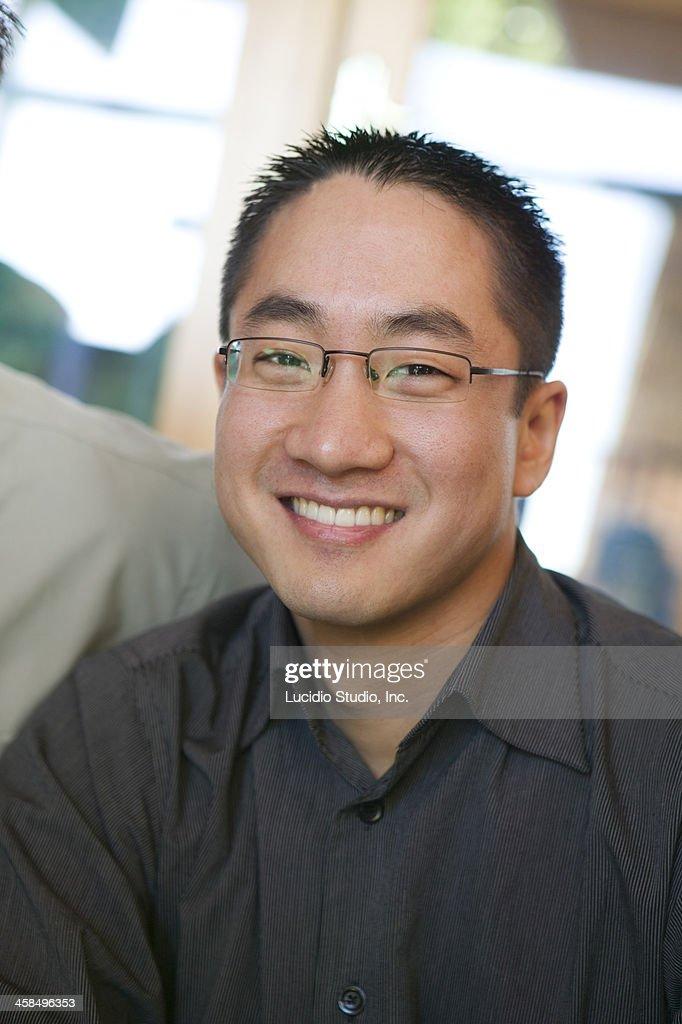 Asian Male Portrait : Stock Photo