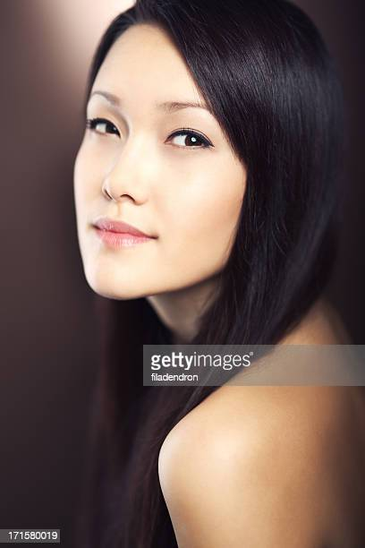 Asian Model Fashion Portrait