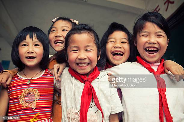 Asian school children