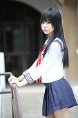 japanese asian schoolgirl