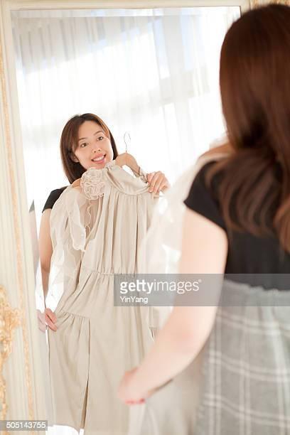 アジアショッピングにファッションブティックでのショッピング