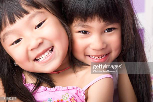 Asian Sisters Portrait