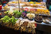 Malaysian street food on display