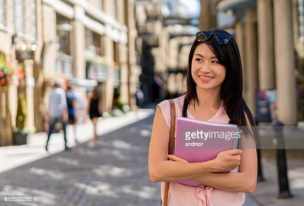 Asian student in London