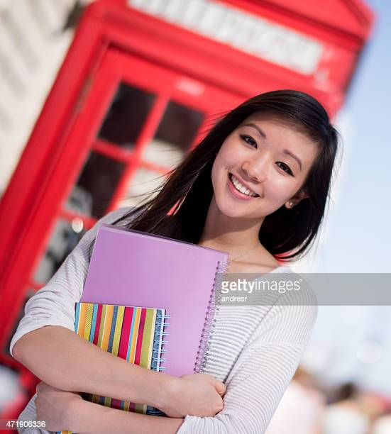 Asian student in the UK