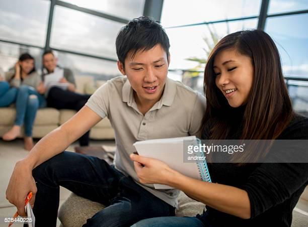 アジアの学生
