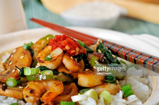 Asian Style Stir Fry Close-up