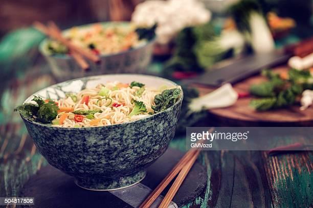 Asian Vegetable Noodle Stir Fry