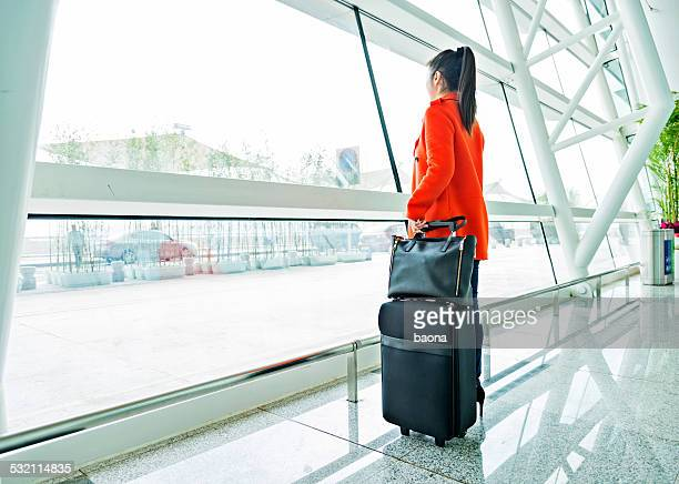 Asian Woman In Airport 33
