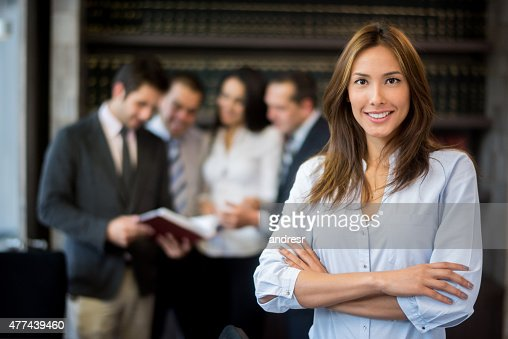 Asian woman leading a group