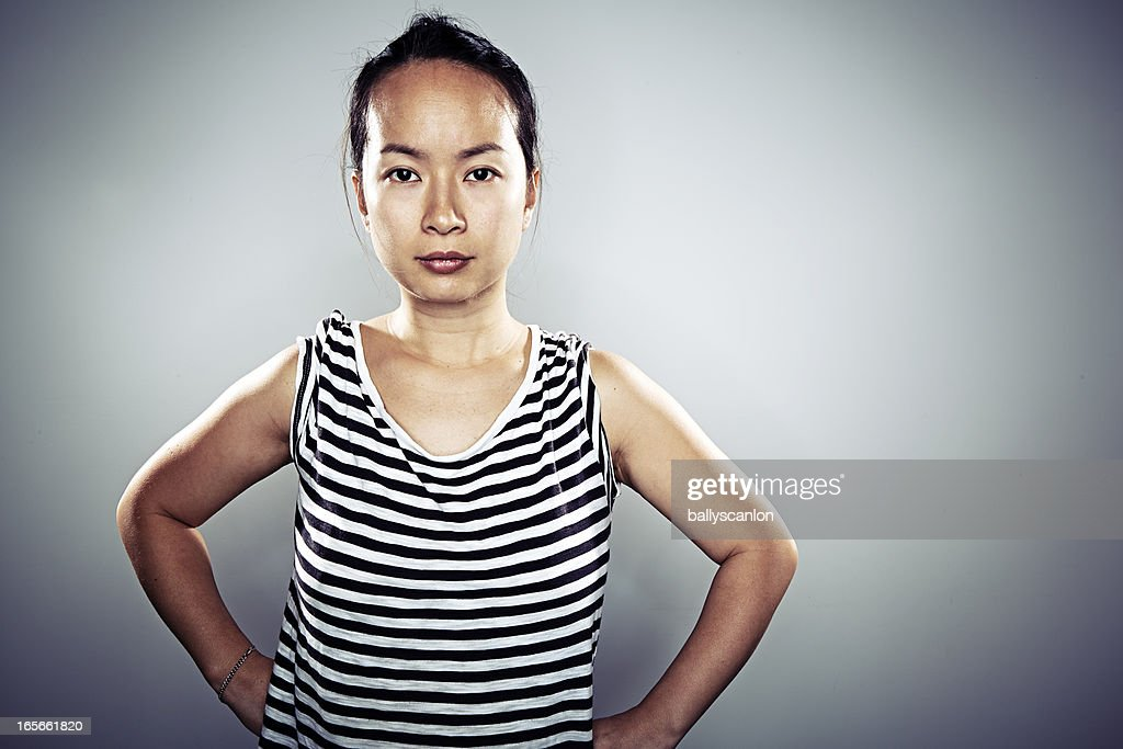 Asian woman, portrait : Stock Photo