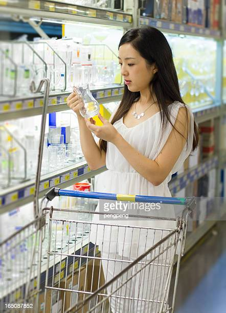 asian women shopping