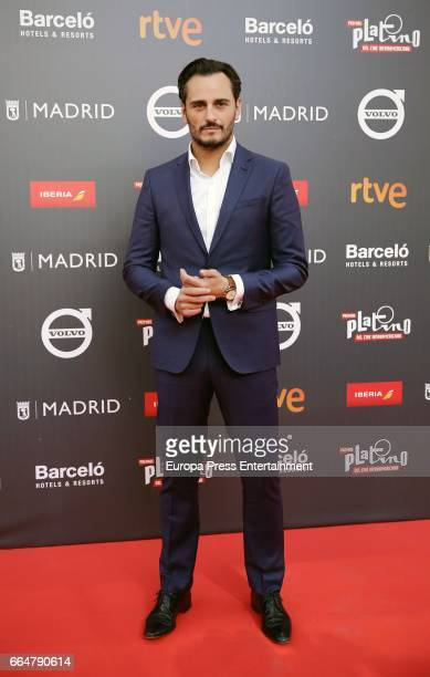 Asier Etxeandia attend the 'Platino Awards 2017' presentation at the Madrid City Hall on April 4 2017 in Madrid Spain
