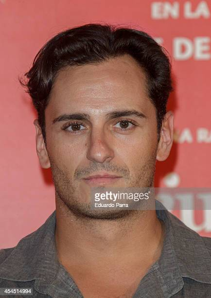 Asier Etxeandia attends 'Ciudad Delirio' premiere photocall at Academia del cine on September 2 2014 in Madrid Spain