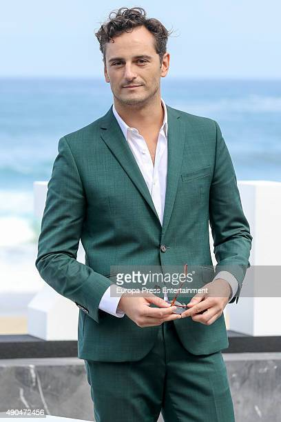 Asier Etxeandia attends 'La Novia' photocall during 63rd San Sebastian Film Festival at Kursaal on September 26 2015 in San Sebastian Spain