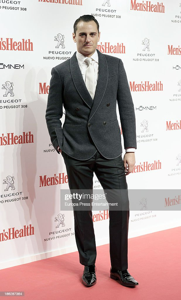 Asier Etxeandia attends Men's Health Awards 2013 at Teatros del Canal on October 29, 2013 in Madrid, Spain.