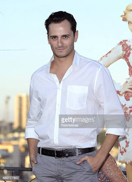 Asier Etxeandia attends Shangay Pride presentation party at ME Hotel on June 16 2014 in Madrid Spain