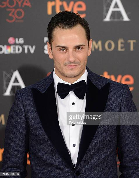 Asier Etxeandia attends the Goya Cinema Awards 2016 Ceremony at Madrid Marriott Auditorium on February 6 2016 in Madrid Spain