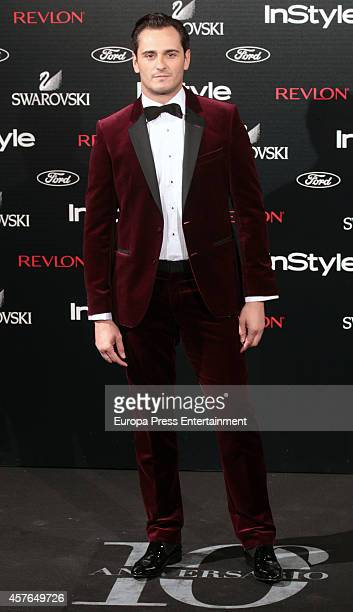 Asier Etxeandia attends the InStyle Magazine 10th anniversary party on October 21 2014 in Madrid Spain