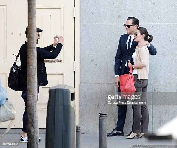 Asier Etxeandia is seen on May 20 2014 in Madrid Spain