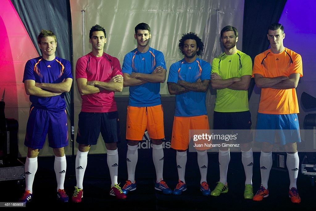 Hilo del Real Madrid Asier-illarramendi-alvaro-arbeloa-alvaro-morata-marcelo-vieira-xabi-picture-id451185955