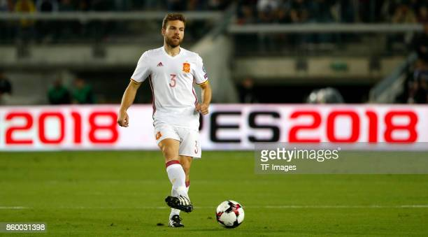 Asier Illarramendi of Spain controls the ball during the 2018 FIFA World Cup European Group G qualifying football match between Israel and Spain at...