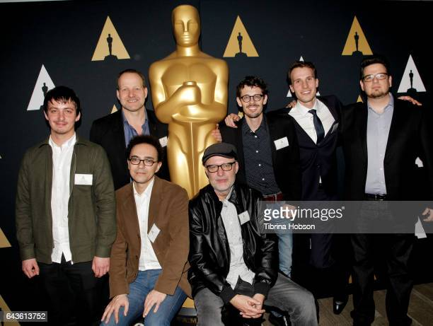 Aske Bang Kim Magnusson Selim Azzazi Juanjo Gimenez Giacun Caduff Timo von Gunten and Kristof Deak attend the 89th Annual Academy Awards Oscar week...