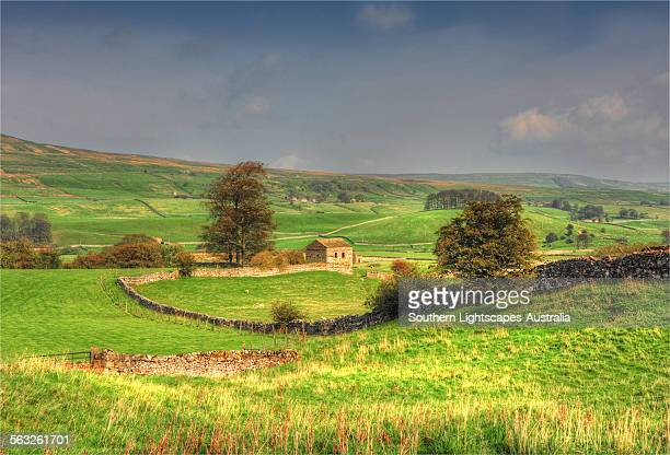 Askrigg countryside view