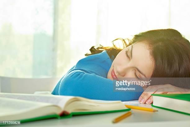 Endormi au cours