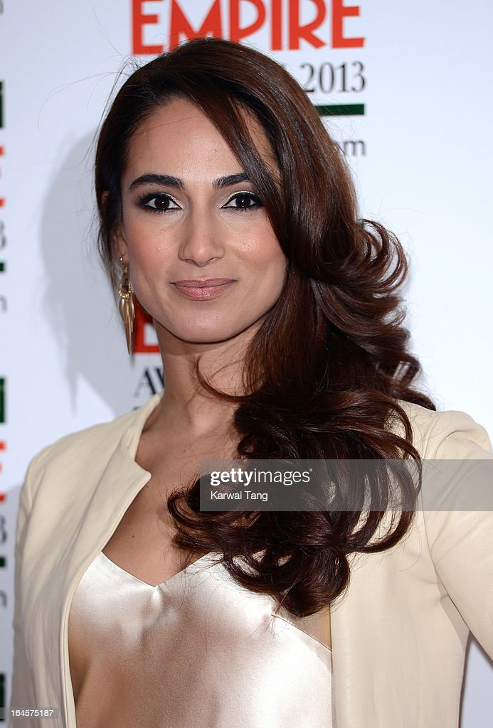 Asli Bayram attends the 18th Jameson Empire Film Awards at Grosvenor House, on March 24, 2013 in London, England.