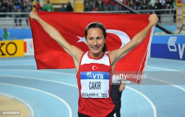 Asli CAKIR ALPTEKIN Championnats de Monde d'Athletisme en Salle Atakoy Athletics Arena Istanbul Photo Dave Winter / Icon Sport