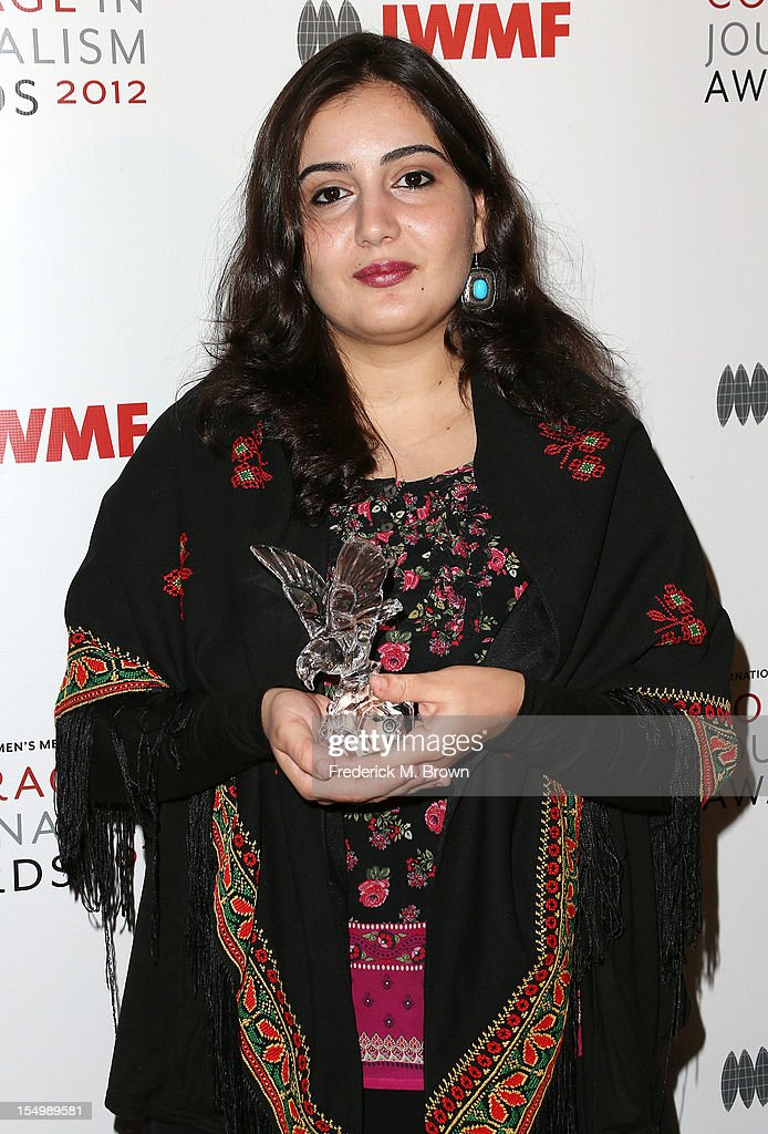 Asmaa al-Ghoul attends the 2012 International Women's Media Foundation's Courage In Journalism Awards at The Beverly Hills Hotel on October 29, 2012 in Beverly Hills, California.