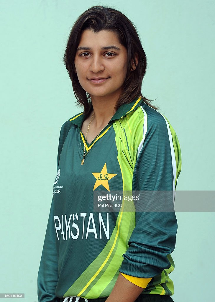 Asmavia Iqbal of Pakistan attends a portrait session ahead of the ICC Womens World Cup 2013 at the Barabati stadium on January 31, 2013 in Cuttack, India.