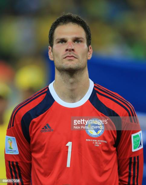 Asmir Begovic Bosnia and Herzegovina goalkeeper