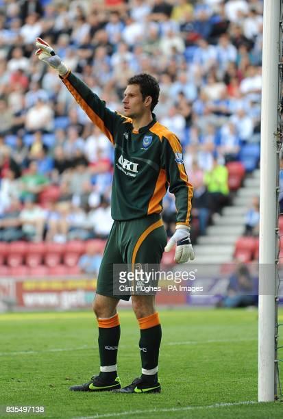 Asmir Begovic Portsmouth goalkeeper