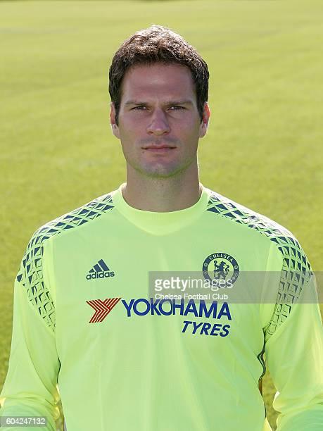 Asmir Bergovic of Chelsea poses for the headshot at Chelsea Training Ground on September 13 2016 in Cobham England
