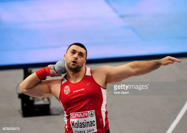 Asmir KOLASINAC Poids Championnats d'Europe en salle BercyParis