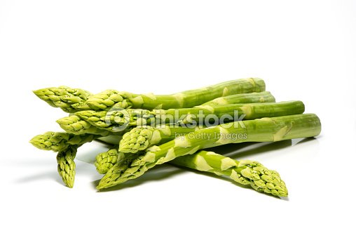 Asparagus bunch : Stock Photo