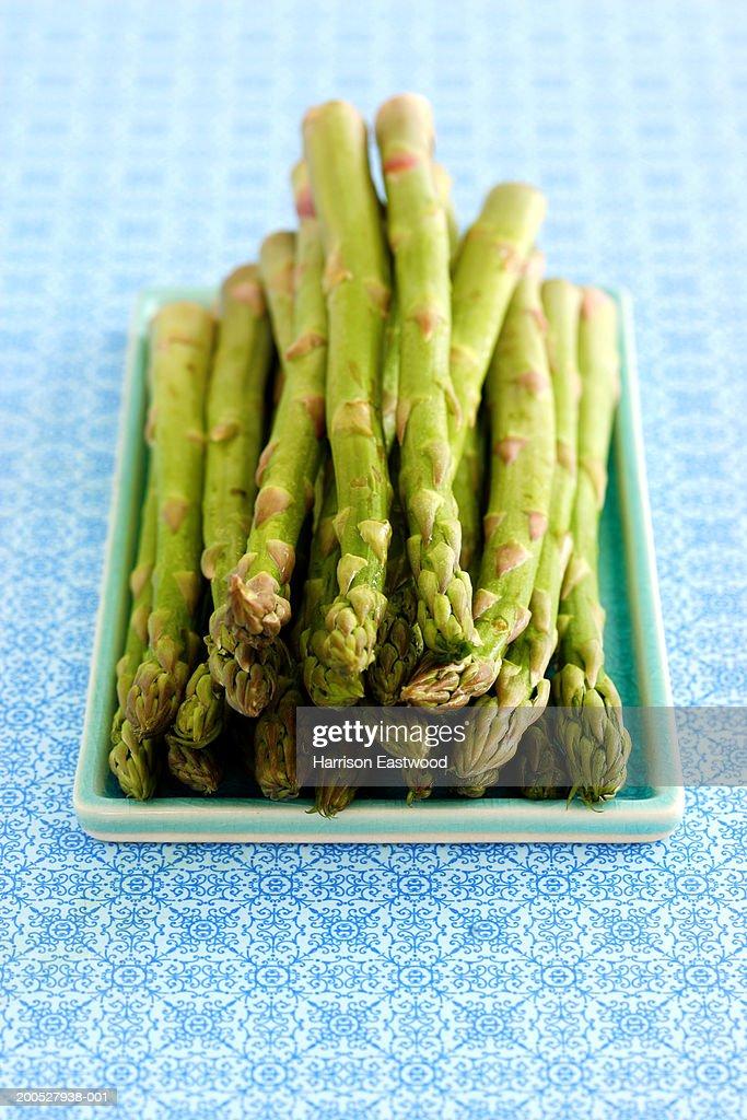 Asparagus on table : Stock Photo