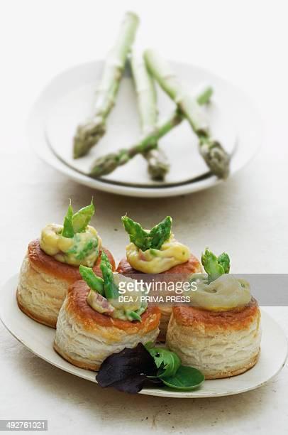 Asparagus volauvent France